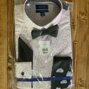 5 Pc. Men's Dress Shirt Set